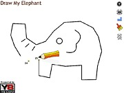 Rysowanie słonia po punktach