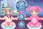 Dzidziuś Elsa makijaż