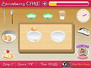 Gra truskawkowe ciasto dla dziewczyn