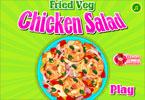 Sałatka z kurczaka