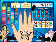 Zdobienie paznokci online