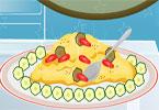 Cukinia z jajkami