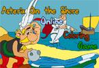 Kolorowanka Asterix i Obelix