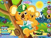 Ubieranka z misiem koala