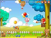 Pojedynek w latających balonach