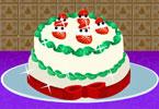 Przepyszny truskawkowy tort