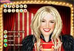 Britney Spears makijaż