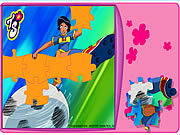 Gra puzzle Totally Spies