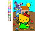 Kitty i ogrodzię