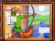 Puzzle z Robin Hoodem