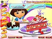 Dekorowanie tortu z podróżniczką