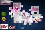 Gra Puzzle z Różową Panterą online