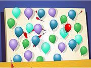 Gra przebijanie balonów