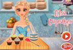 Elsa piecze mufinki