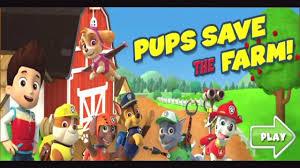 Psi patrol zabawy dla dzieci