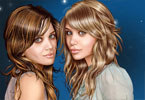 Bliźniaczki Olsen makijaż
