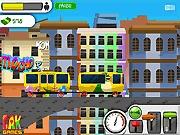 Gra pociągi elektryczne w mieście