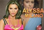 Alyssa Milano makijaż