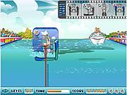 Tom i Jerry na nartach wodnych