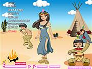Ubieranka z indianką